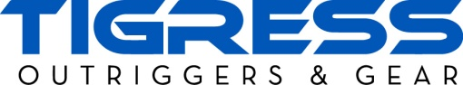 Tigress Logo blue and black